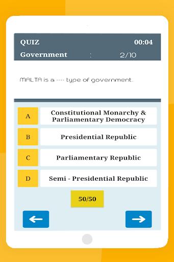 General Knowledge Quiz : World GK Quiz App स्क्रीनशॉट 19