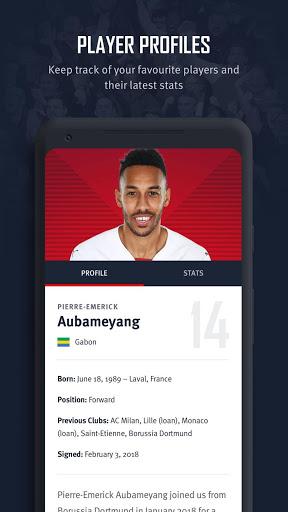 Arsenal Official App 6 تصوير الشاشة