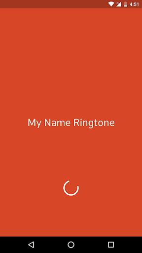 My Name Ringtone Maker 1 تصوير الشاشة