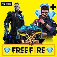 EliteGift💎 - Free Diamond & Elite Pass for Fire on 9Apps