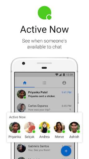 Messenger Lite: Telepon & Pesan Gratis screenshot 6
