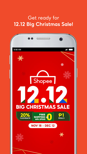 Shopee 12.12 Christmas Sale screenshot 2