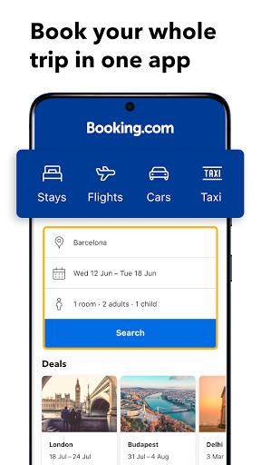 Booking.com: Hotels, Apartments & Accommodation screenshot 1