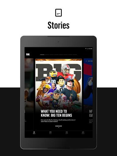 FOX Sports: Latest Stories, Scores & Events 8 تصوير الشاشة