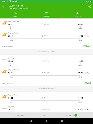 Wego Flights, Hotels, Travel Deals Booking App screenshot 13