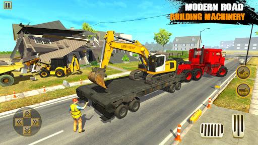 City Road Builder Highway Construction Games 2021 screenshot 3
