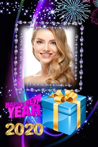 2021 New Year Photo Frames Greeting Wishes screenshot 7