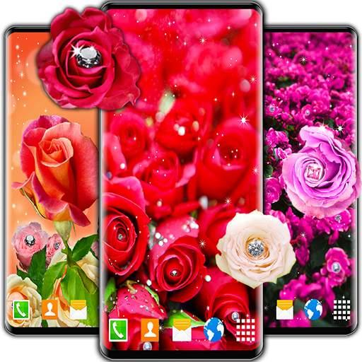 Diamond Rose Live Wallpaper ❤️ Shine HD Wallpapers