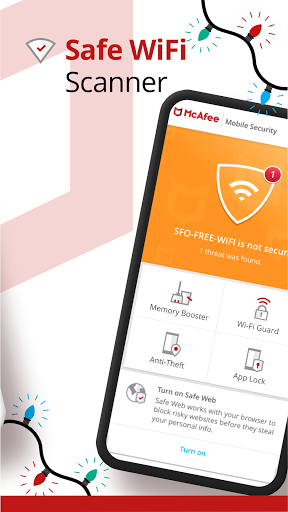 Mobile Security: VPN Proxy & Anti Theft Safe WiFi screenshot 4