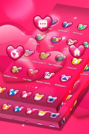 الحب موضوع قاذفة screenshot 4