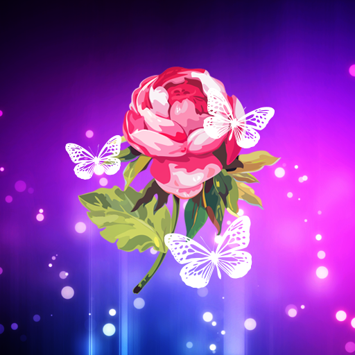 Abstract Flower Live Wallpaper icon