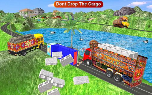 Indian Cargo Truck Driver : Truck Games screenshot 2