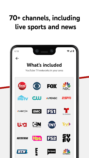 YouTube TV - Watch & Record Live TV screenshot 2