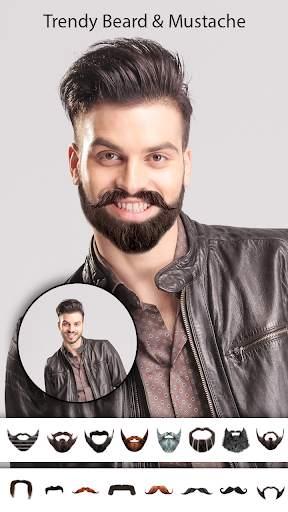 Man Photo Editor : Man Hair style ,mustache ,suit screenshot 2