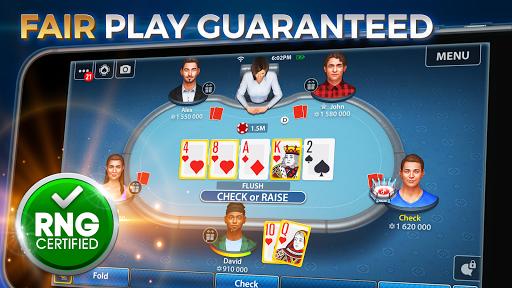 Texas Hold'em & Omaha Poker: Pokerist 1 تصوير الشاشة