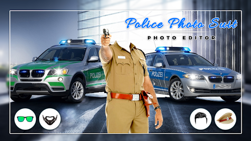 Men Police suit Photo Editor - Police Dresses screenshot 5