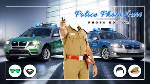 Men Police suit Photo Editor - Police Dresses screenshot 5
