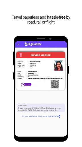 DigiLocker  -  a simple and secure document wallet screenshot 3