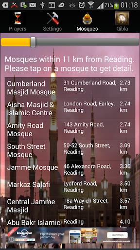 iAzan Prayer Time Mosque Qibla screenshot 4
