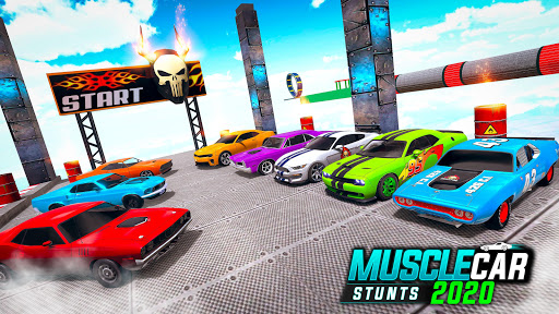 Muscle Car Stunts 2020: Mega Ramp Stunt Car Games screenshot 4