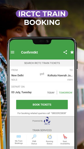 IRCTC Train Booking - ConfirmTkt (Confirm Ticket) screenshot 1