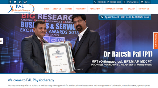 PAL Physiotherapy screenshot 6