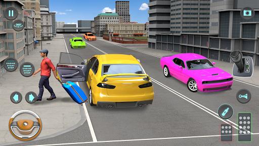 City Taxi Driving simulator: PVP Cab Games 2020 screenshot 3