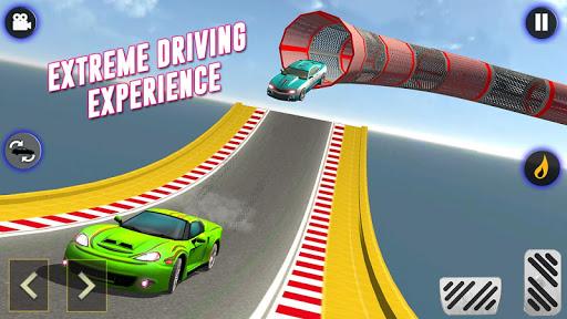 GT Racing Stunts: Tuner Car Driving 4 تصوير الشاشة