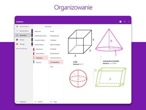 Microsoft OneNote: zapisz pomysły, organizuj notki screenshot 7