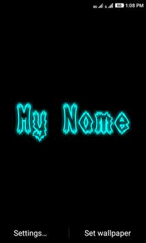 My Name Neon screenshot 3