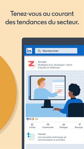 LinkedIn: recherche de job & nouvelles d'affaires screenshot 7