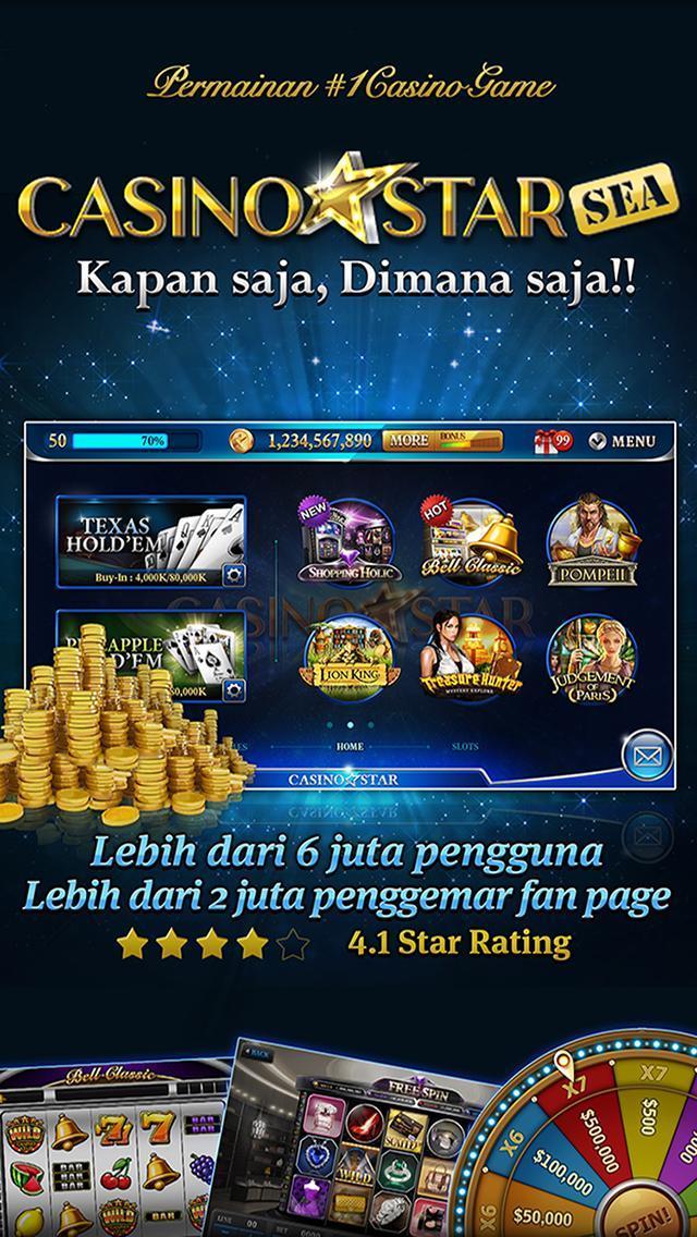 CasinoStar SEA - Free Slots 1 تصوير الشاشة