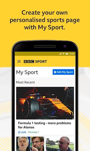 BBC Sport - News & Live Scores 3 تصوير الشاشة