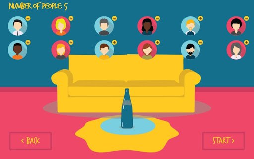 Spin the Bottle for Friends! screenshot 3