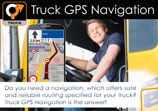Truck GPS Navigation 11 تصوير الشاشة