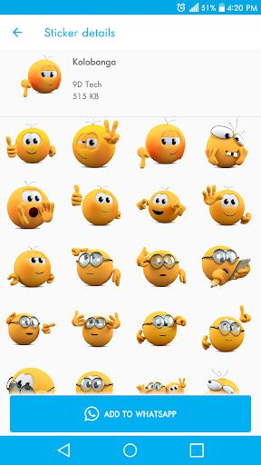 New Stickers For WhatsApp - WAStickerapps Free screenshot 2