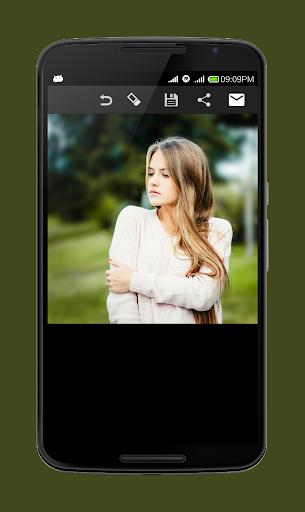 Blur Image - DSLR focus effect 5 تصوير الشاشة