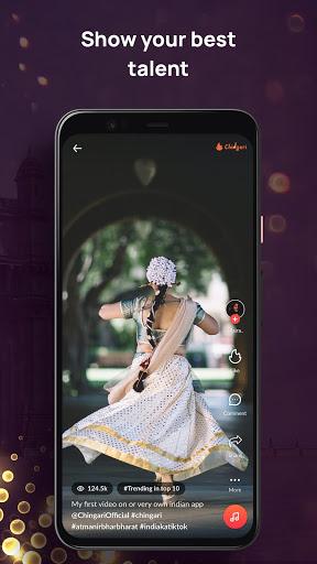 Chingari - Original Indian Short Video App 2 تصوير الشاشة