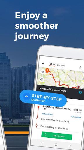 Moovit: Timing & Navigation for all Transit Types screenshot 7