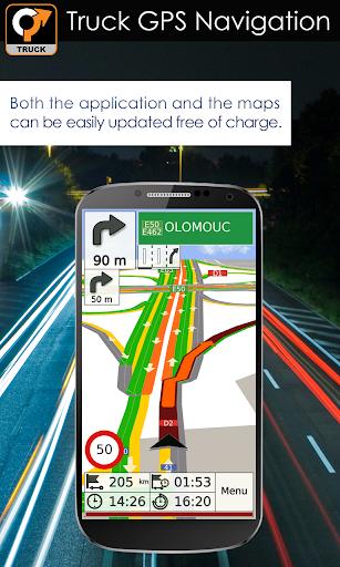 Truck GPS Navigation 7 تصوير الشاشة
