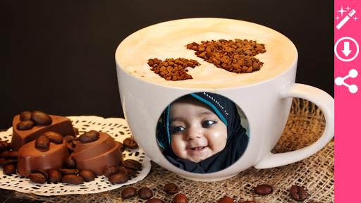 Coffee Cup Photo Frame 3 تصوير الشاشة