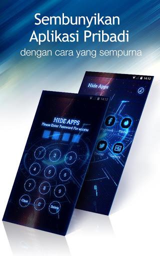 Peluncur C: Tema DIY, sembunyikan aplikasi screenshot 2