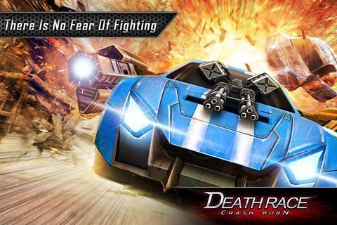 Fire Death Race:Crash Burn 1 تصوير الشاشة