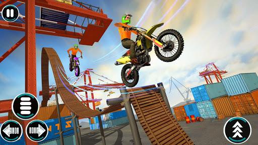 Bike Driving Games: Bike Stunt Games screenshot 1