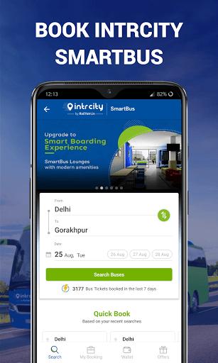 IRCTC Ticket, Train Status, Railway App: RailYatri screenshot 3
