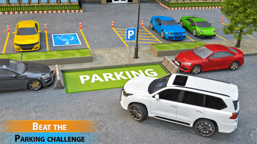 Car Parking Simulator Games: Prado Car Games 2021 screenshot 2