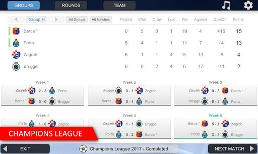 Mobile Soccer League 7 تصوير الشاشة