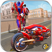 Super Moto Robot Transform أيقونة