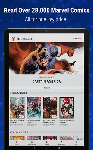 Marvel Unlimited 19 تصوير الشاشة