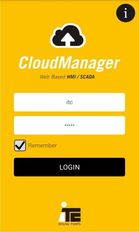 ITC Cloud Manager 1 تصوير الشاشة